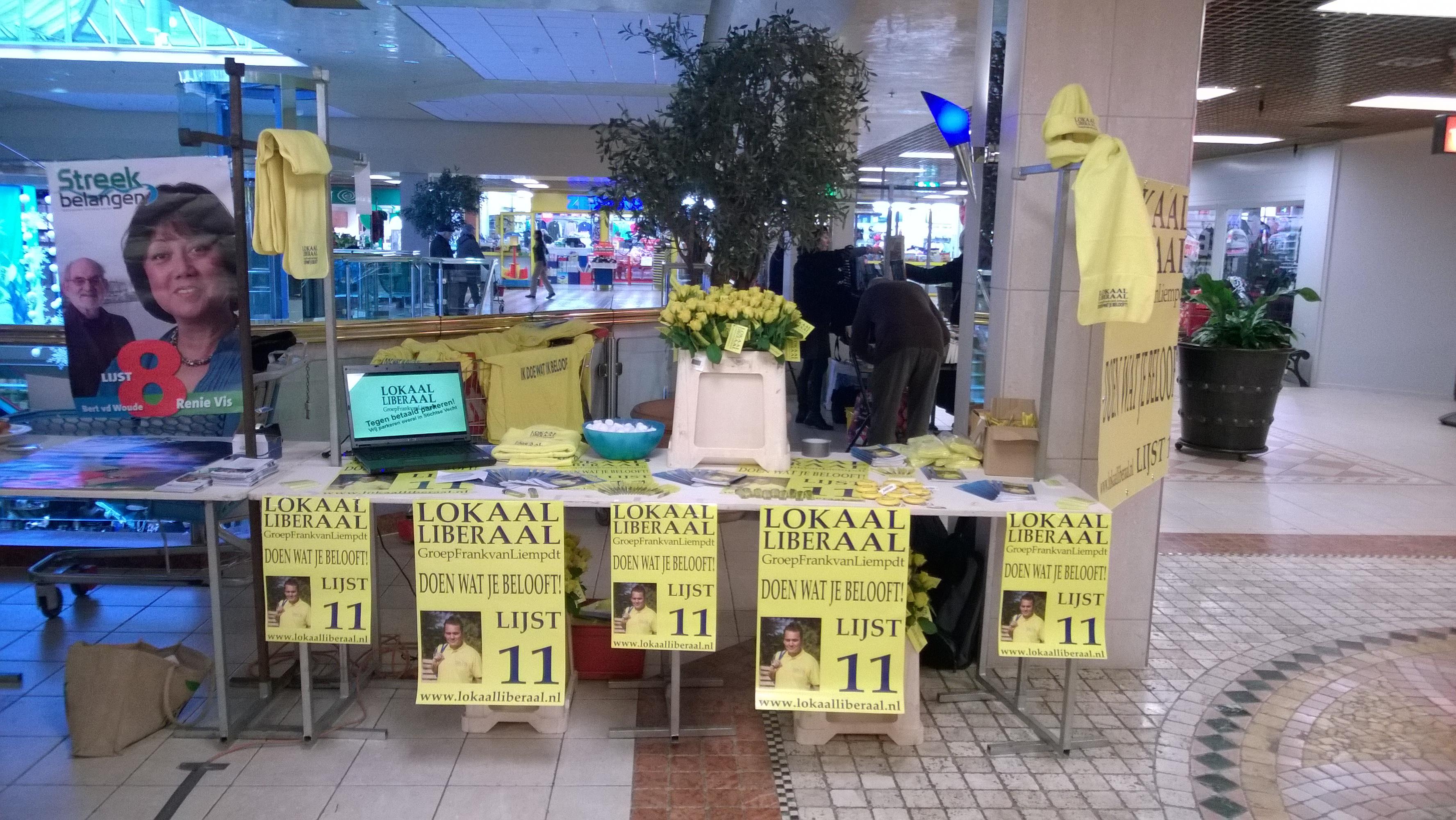 Succesvolle campagnedag in Winkelcentrum Bisonspoor