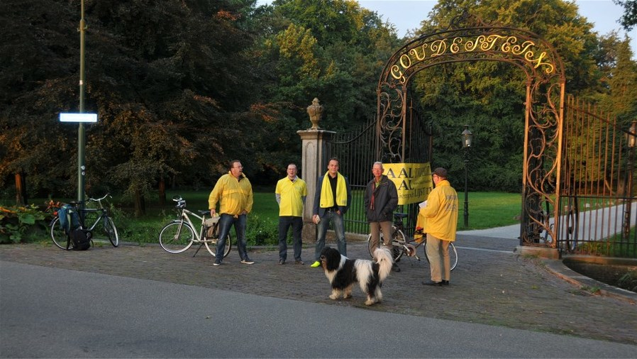 Lokaal Liberaal sluit park Goudestein af voor autoverkeer.