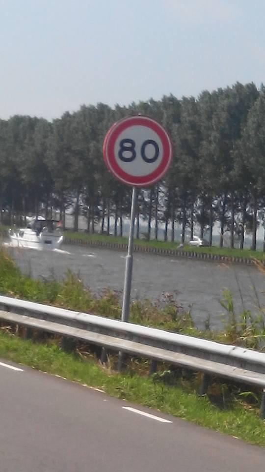 Bezwaartermijn Oostkanaaldijk verlopen => 80 km/u!