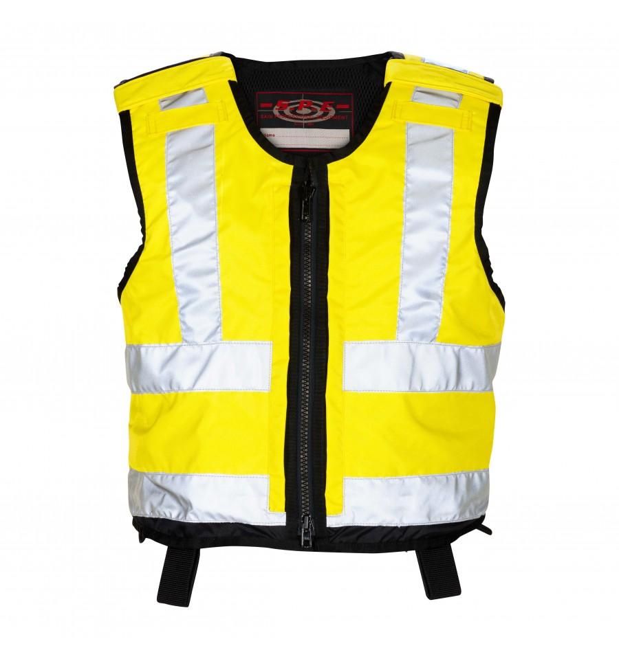 buitenhoes-kogel-steekwerend-vest-reflectie-geel