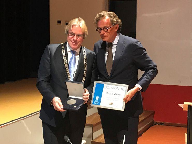 Laatste raadsvergadering met voorzitter en burgemeester Marc Witteman