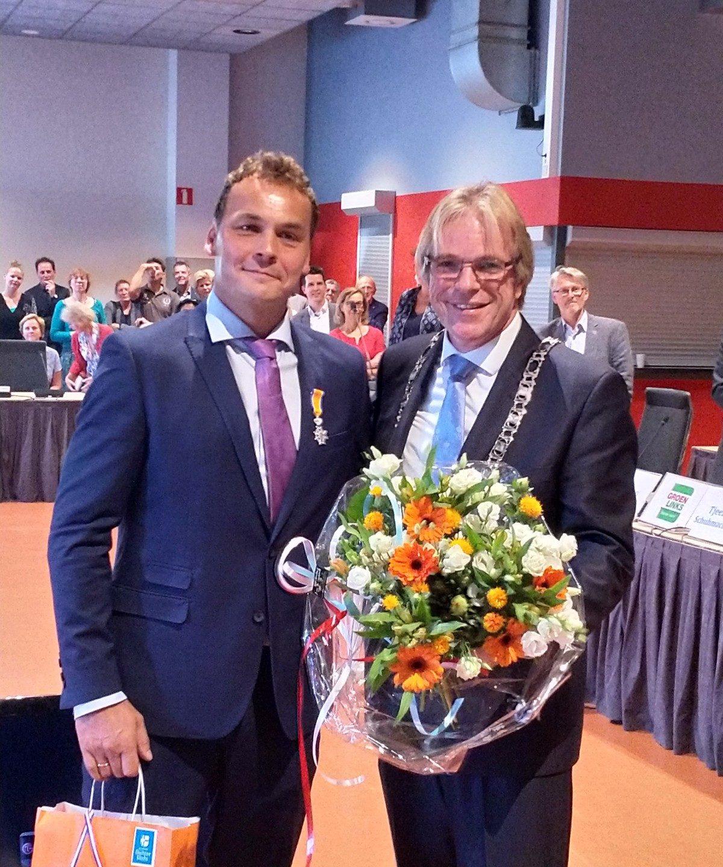 Wethouder Frank van Liempdt ontvangt koninklijke onderscheiding