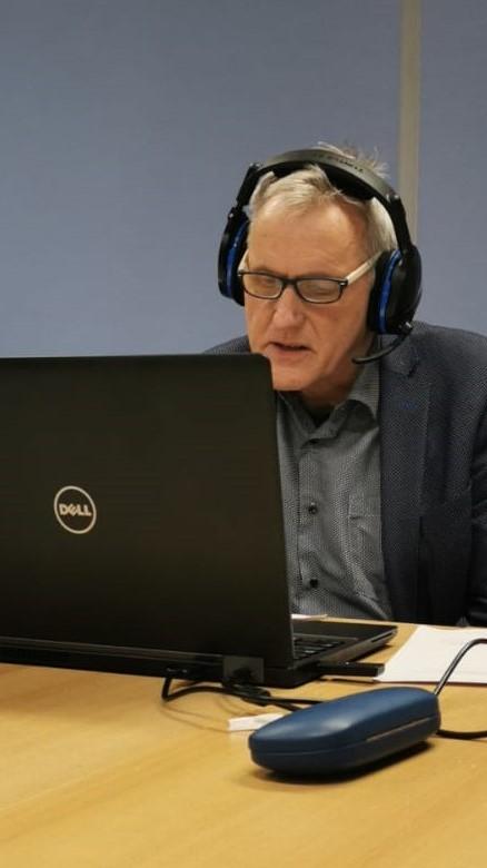 Frank Venus geeft maidenspeech tijdens de raadsvergadering van 16 december 2020